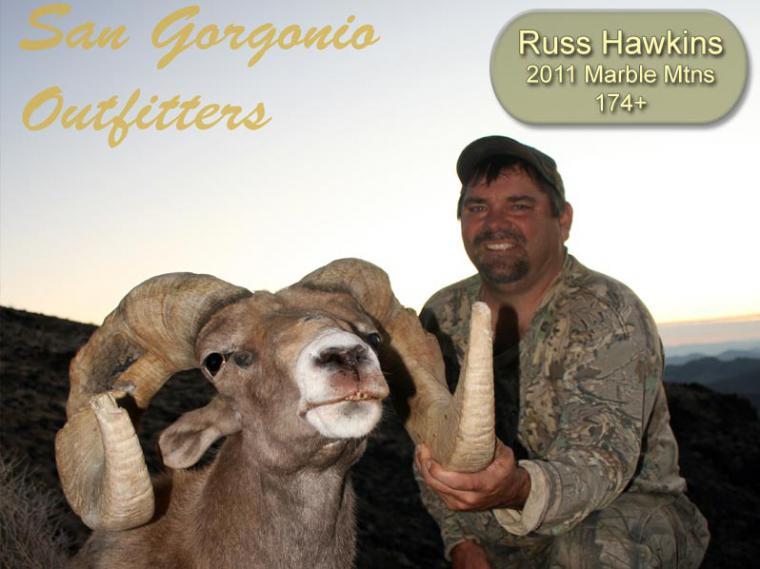 Hall of Fame: 2011 Russ Hawkins 174+