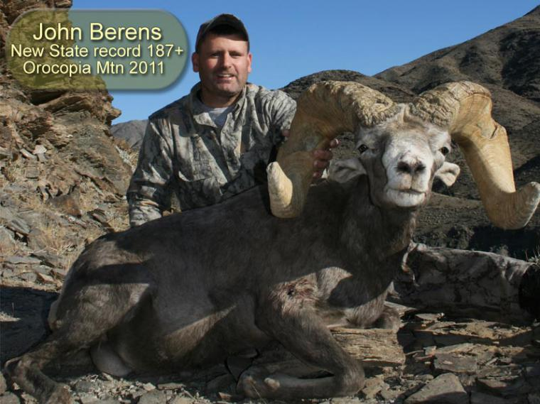 Hall of Fame: 2011 John Berens State Record 187+