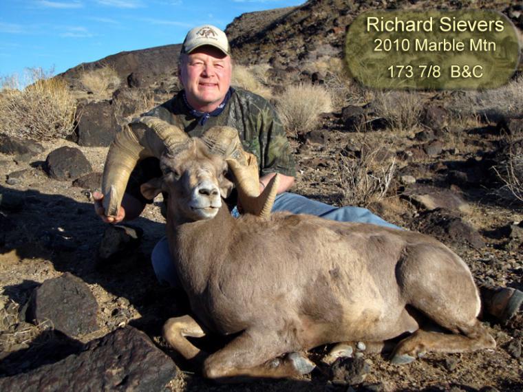 Hall of Fame: 2010 Richard Sievers 173 7/8