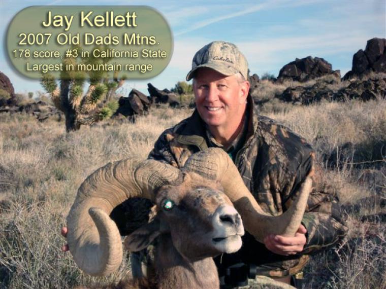 Hall of Fame: 2007 Jay Kellett #3 Ram