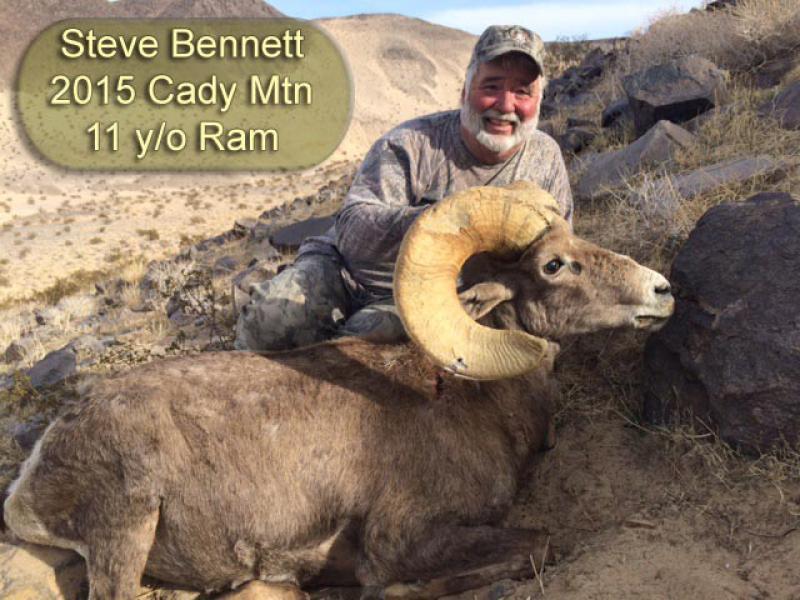 Steve Bennett 2015 Cady Mtn