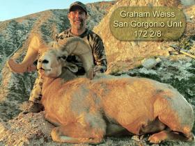 Graham Weiss - San Gorgonio Unit - 172 2/8